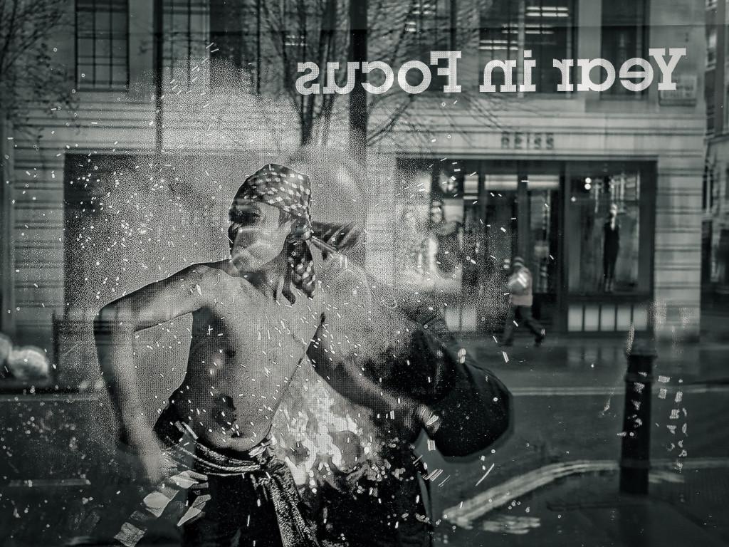 Streetart-Performance