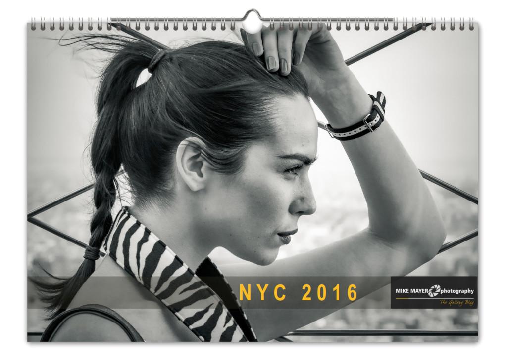 Kalender New York City 2016 Kunstdruck Titelblatt
