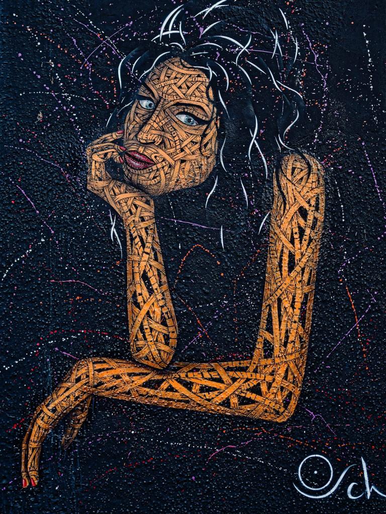 "Streetart London Camden ""Amy Winehouse"" by Otto Schade"