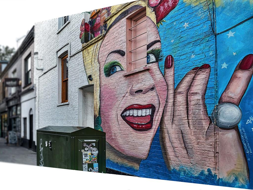 Streetart London Camden by Alessandra Tortone