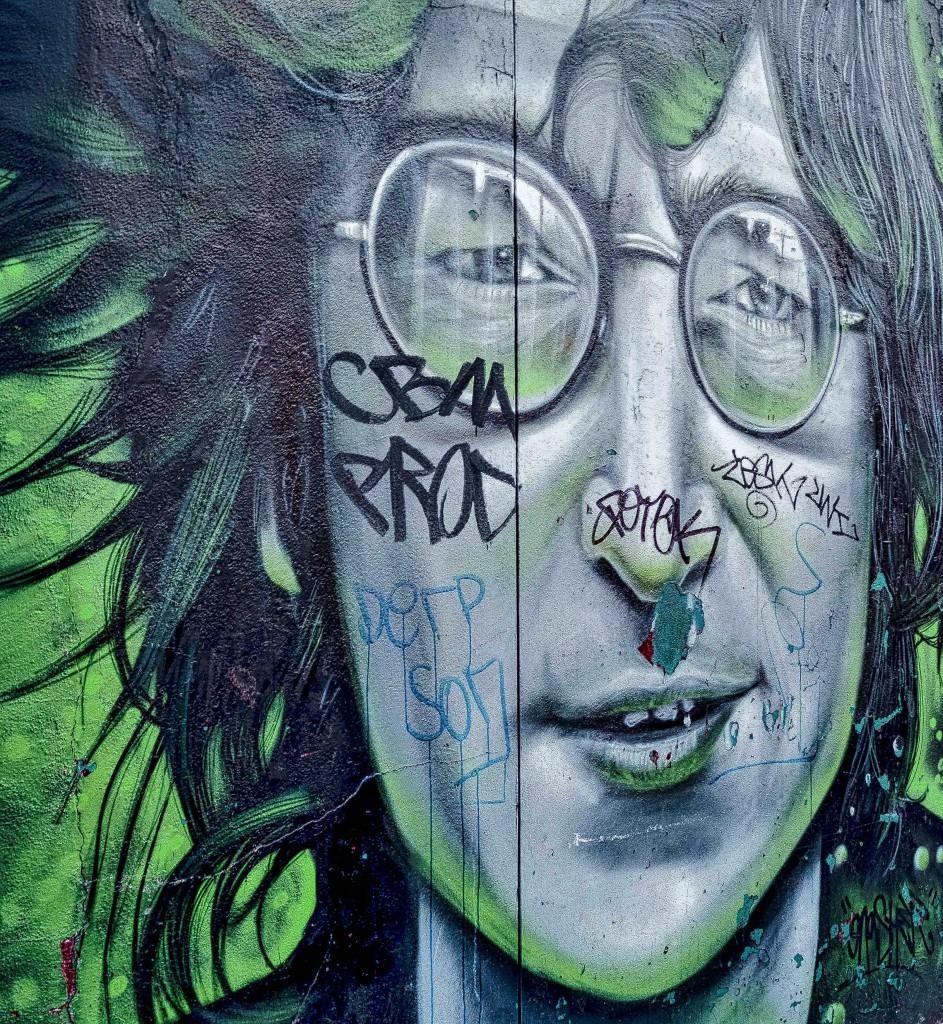 "Streetart London Camden by David ""Gnasher"" Nash"