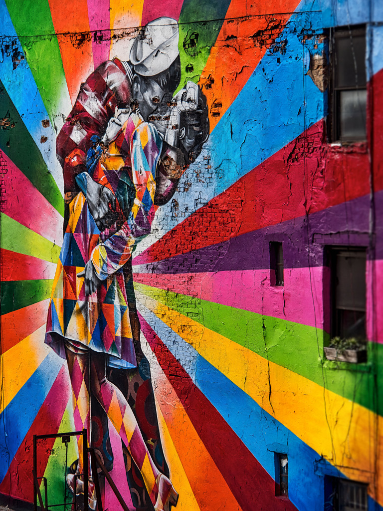 Streetart New York by Eduardo Kobra