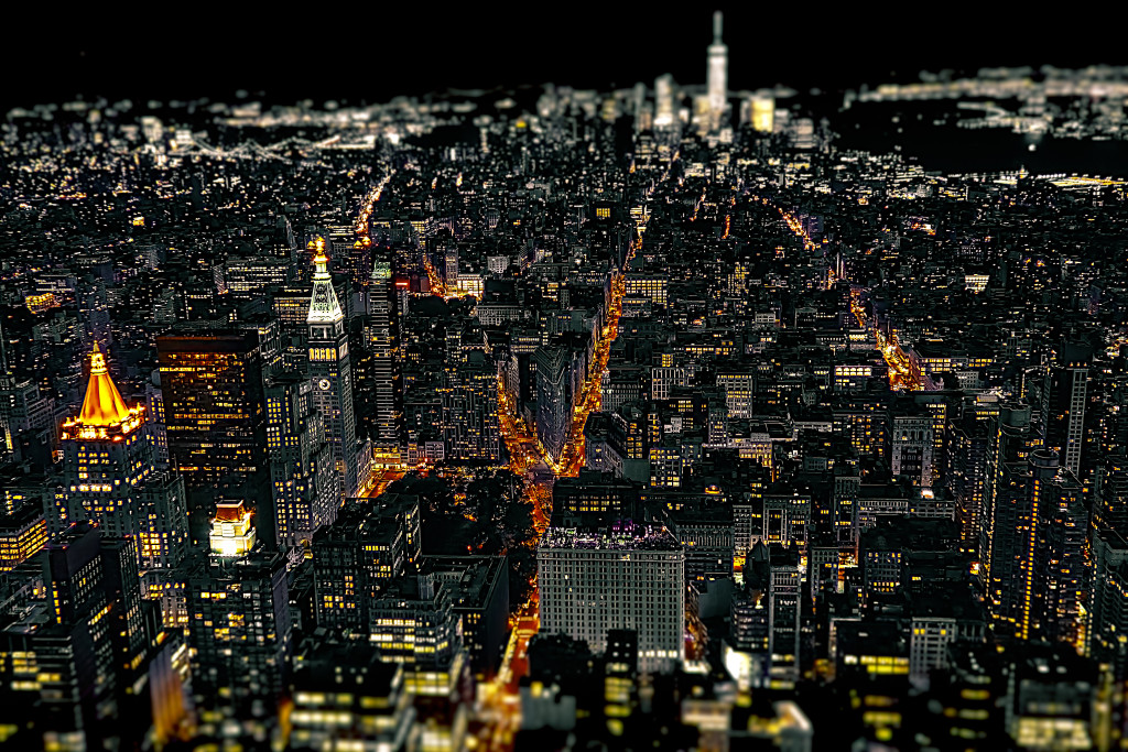 Manhattan-Lights - from Flatiron District to Downtown