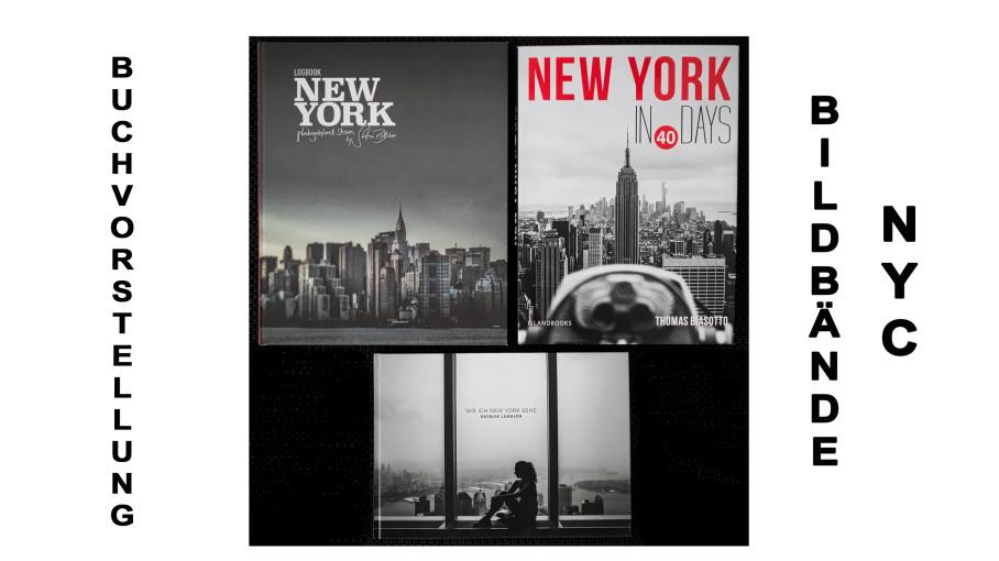 New York Bildbände - Titel