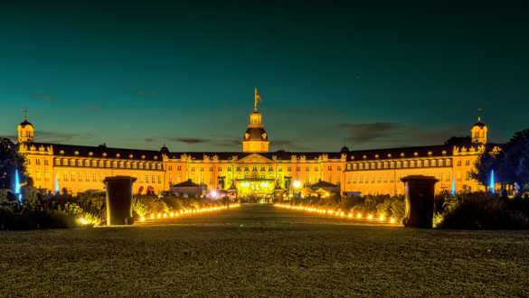 Schloss in Flammen Karlsruhe 2016 - 4