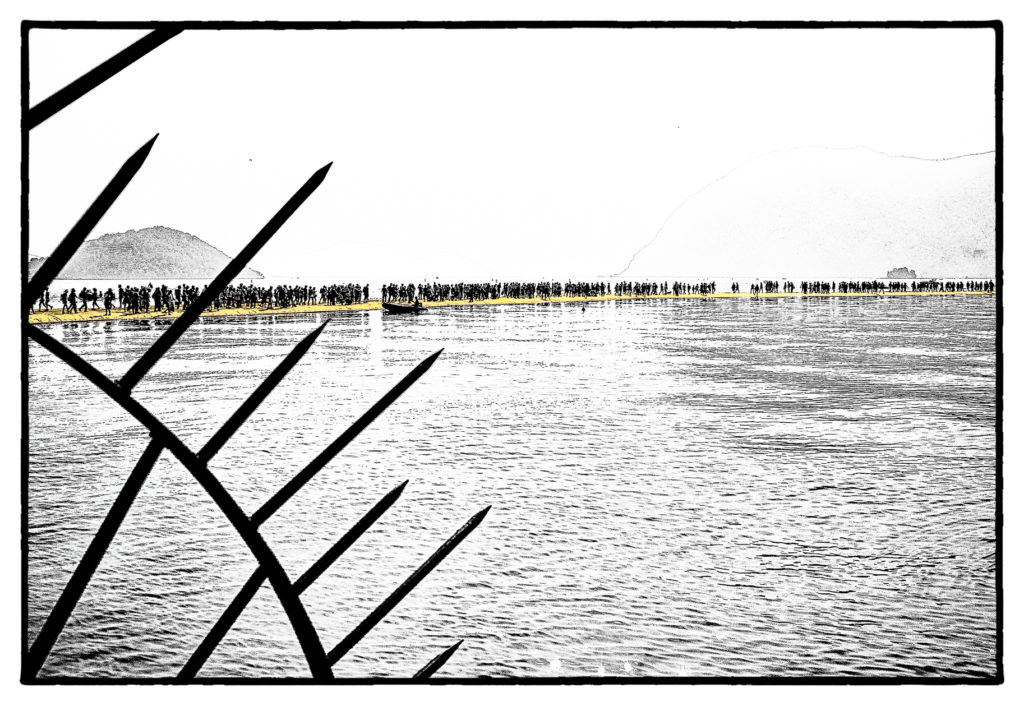 The Floating Piers - Film Noir Fine Art 5