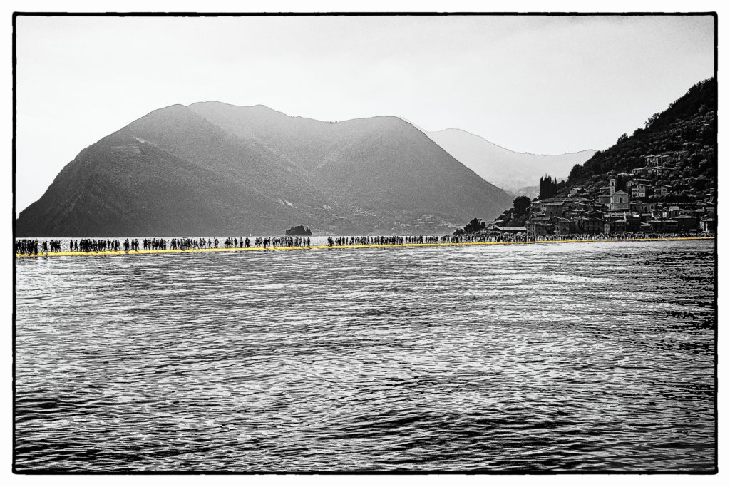 The Floating Piers - Film Noir Fine Art 11
