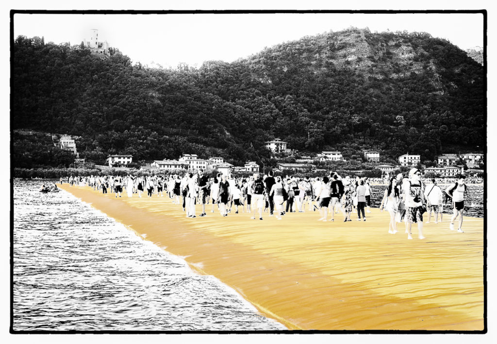 The Floating Piers - Film Noir Fine Art 9