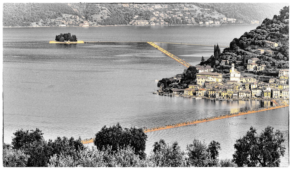 The Floating Piers - Film Noir Fine Art 3