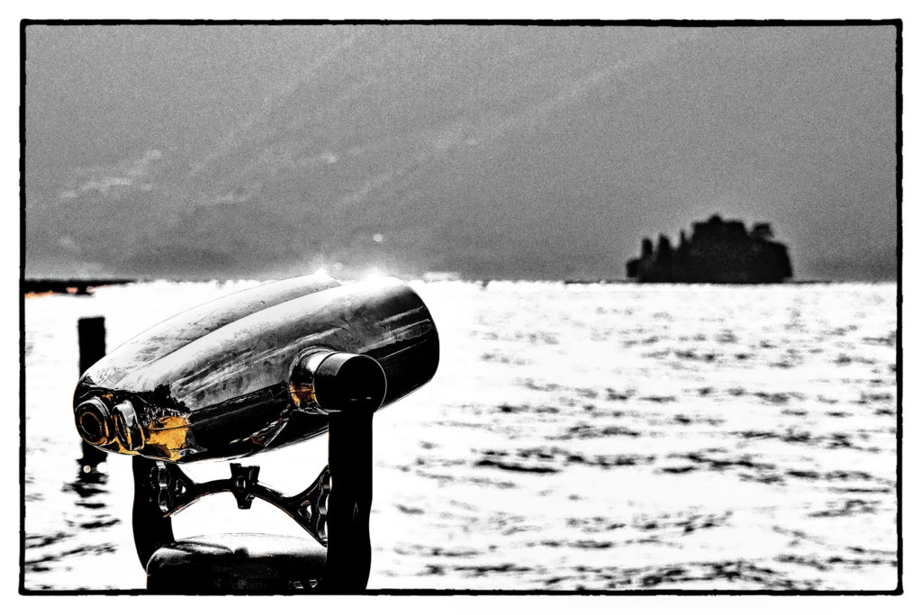 The Floating Piers - Film Noir Fine Art -1