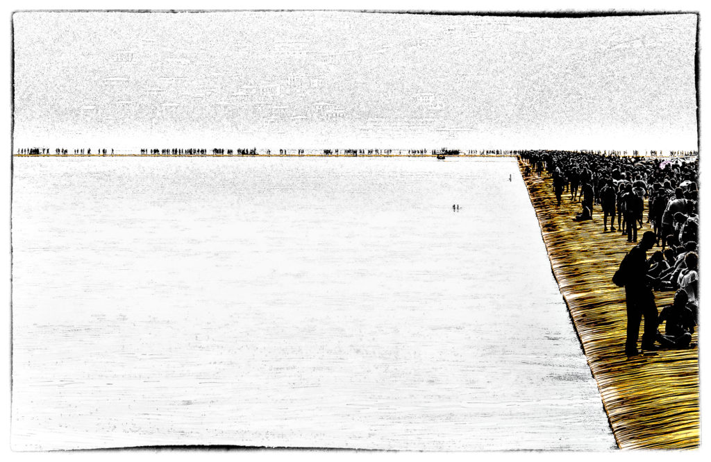 The Floating Piers - Film Noir Fine Art 6