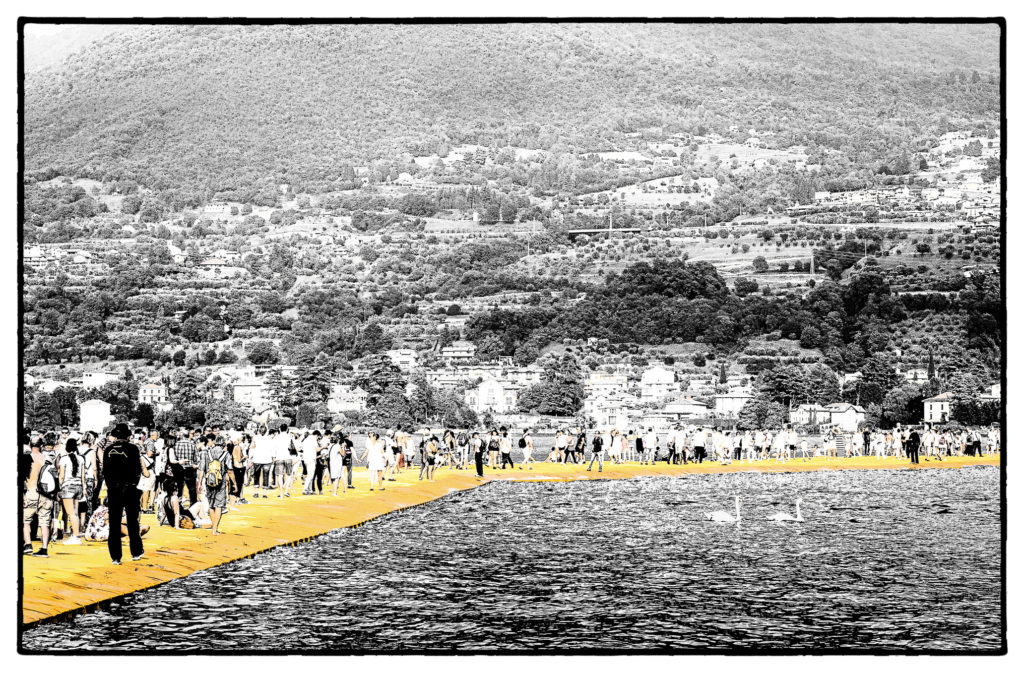 The Floating Piers - Film Noir Fine Art 8