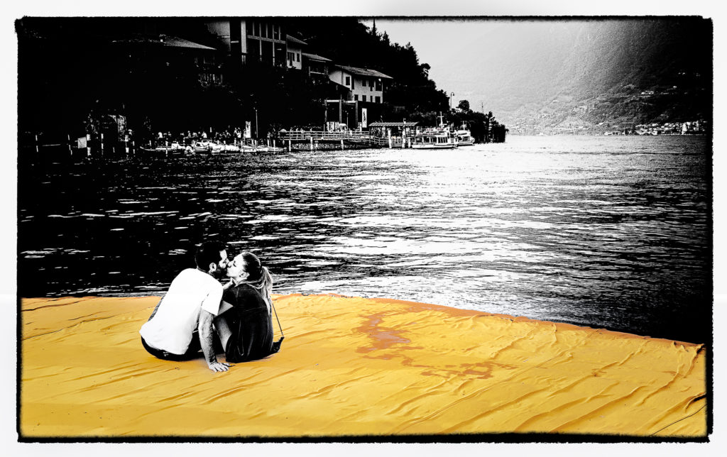 The Floating Piers - Film Noir Fine Art 10