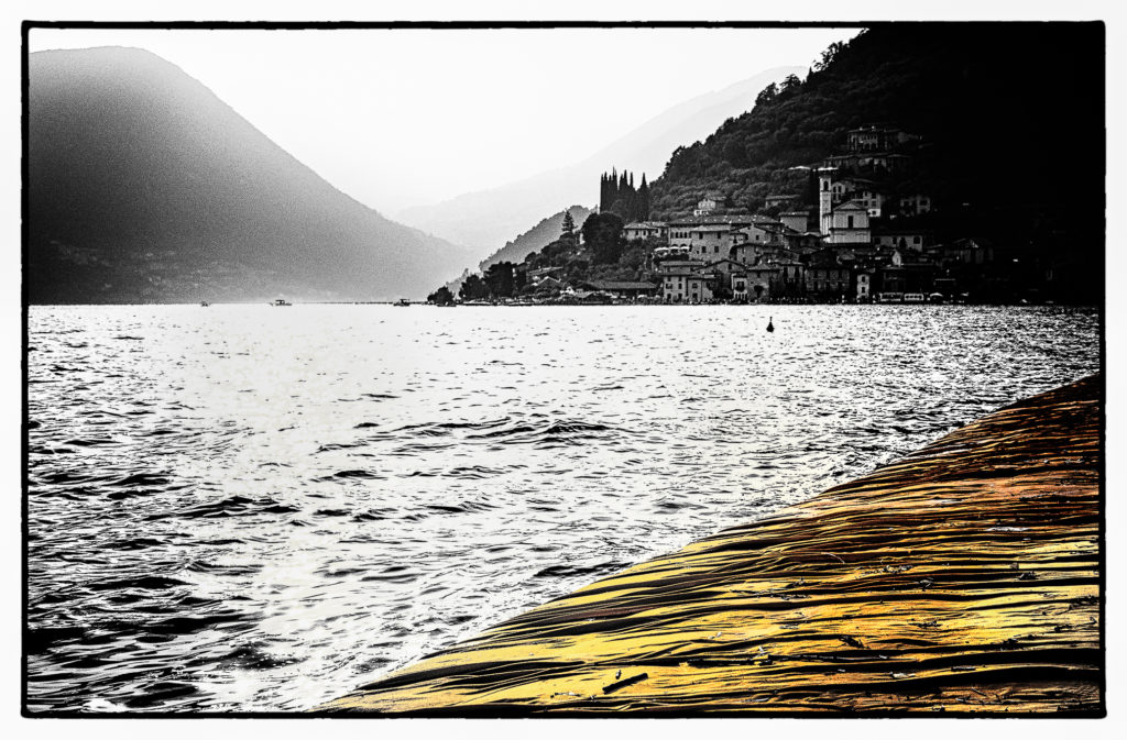 The Floating Piers - Film Noir Fine Art 2