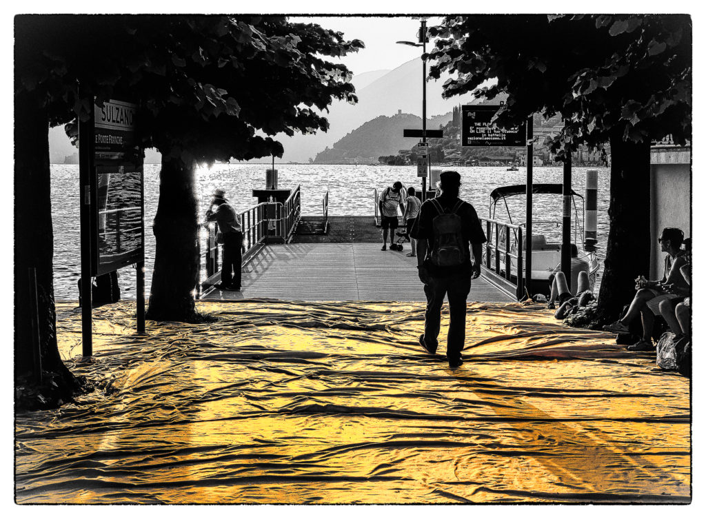 The Floating Piers - Film Noir Fine Art 12