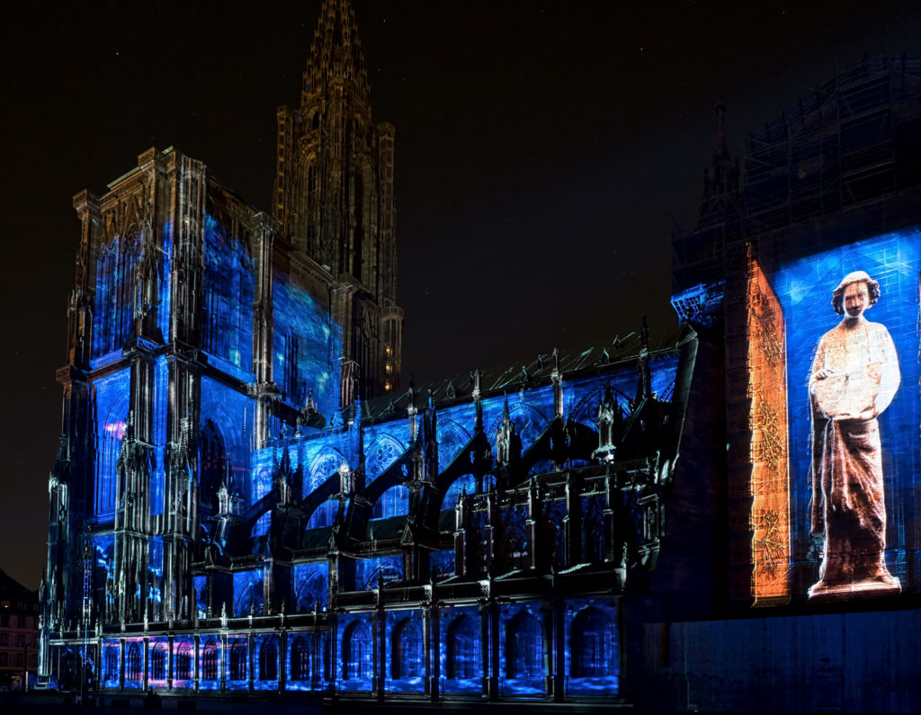 Lumière Intemporelle - Strasbourg Cathedral Light Show 2016